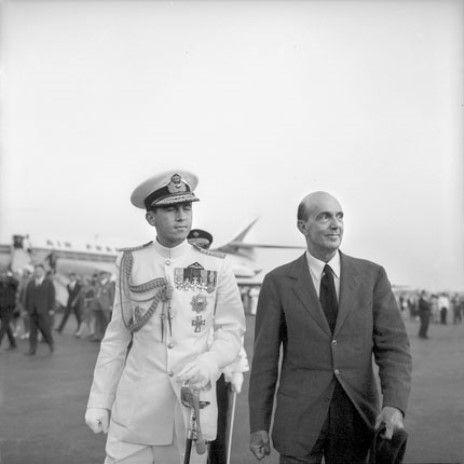 Umberto II e Costantino II di Grecia