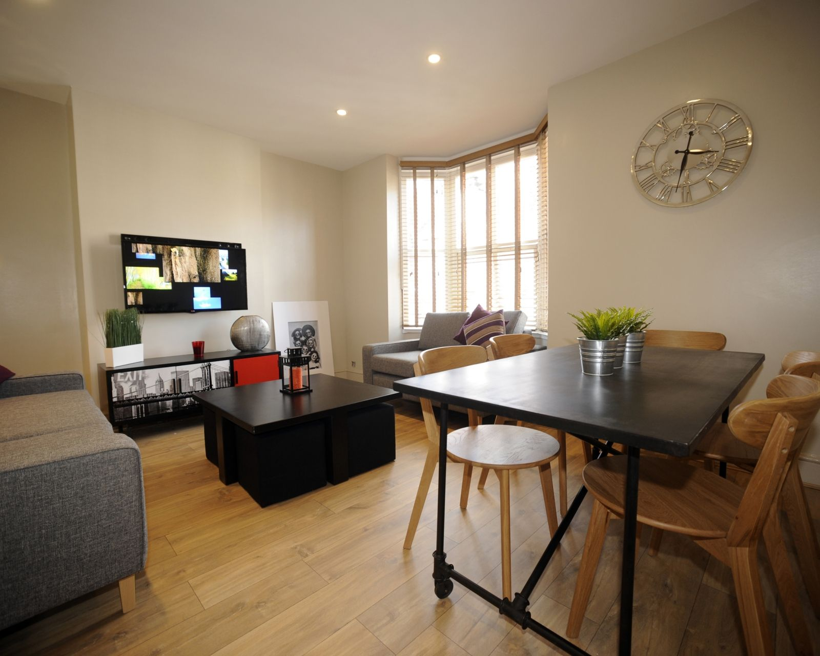 Recently renovated, this five bedroom student house is
