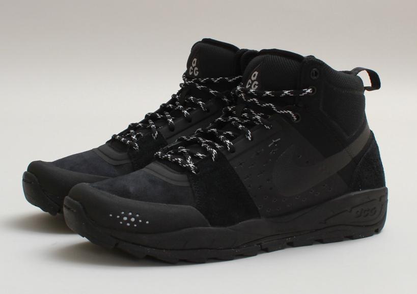 ccc8254eb9e Nike ACG Alder Mid - Black   Gamma Green