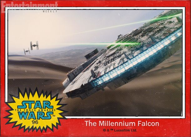 Star Wars The Force Awakens: The Millennium Falcon