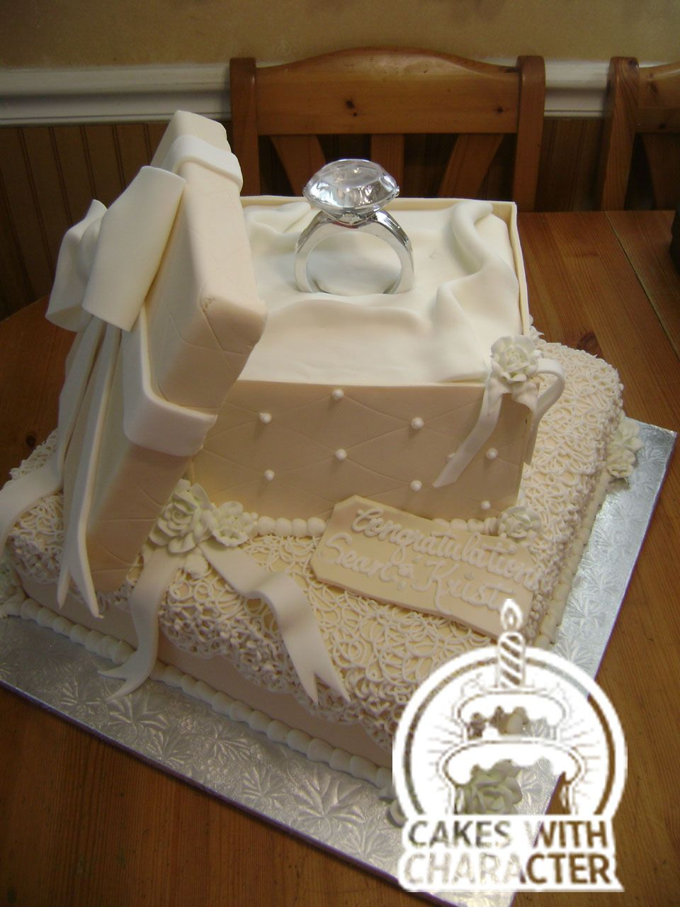Engagement Party Ring Cake Really Cool Idea And Not Just For