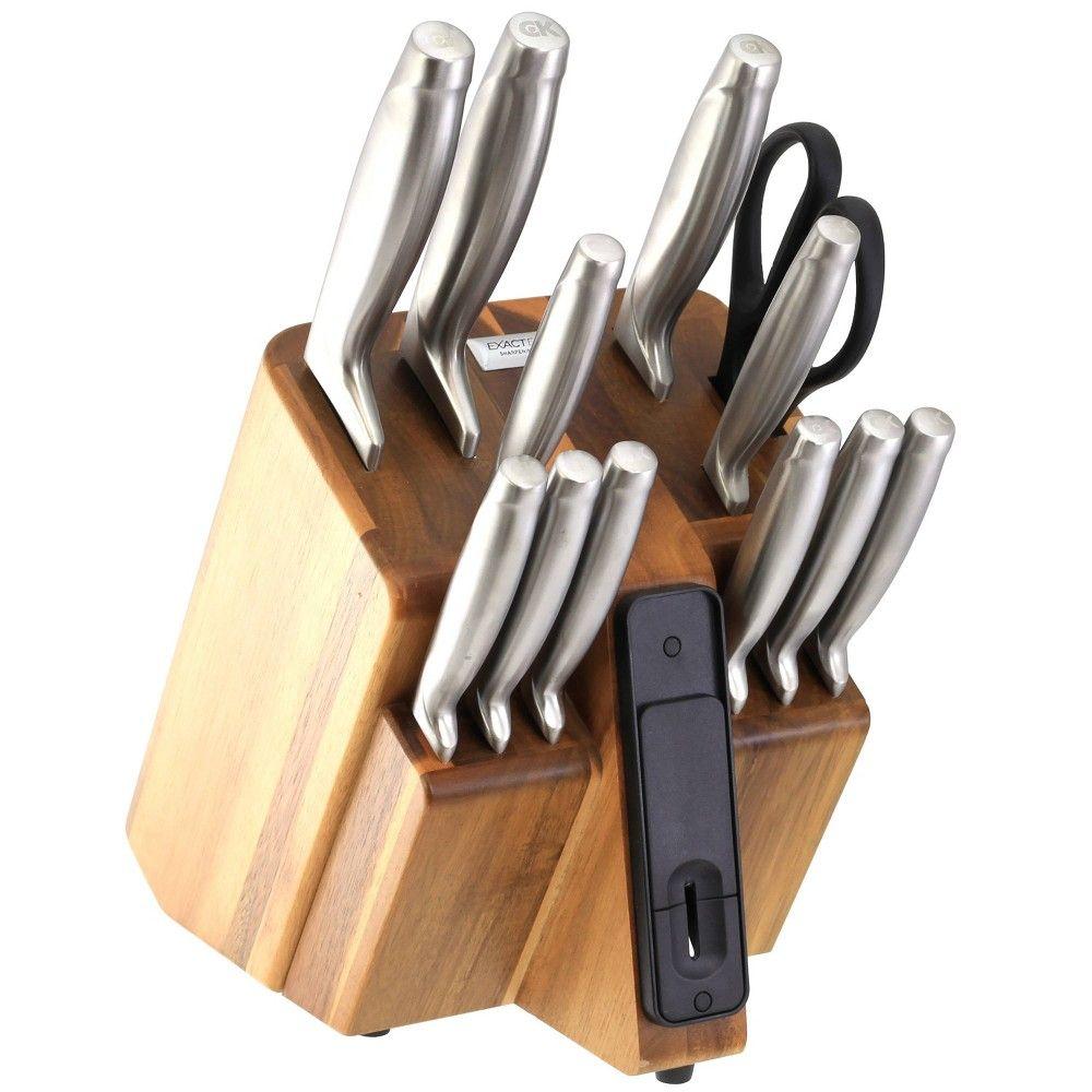 Craftkitchen Exact Edge 13pc Self Sharpening Cutlery Set Knife Block Set Knife Block Knife Set Kitchen Self sharpening knife block set