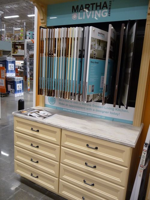 Martha Stewart Cabinets at Home Depot!! (With images ...