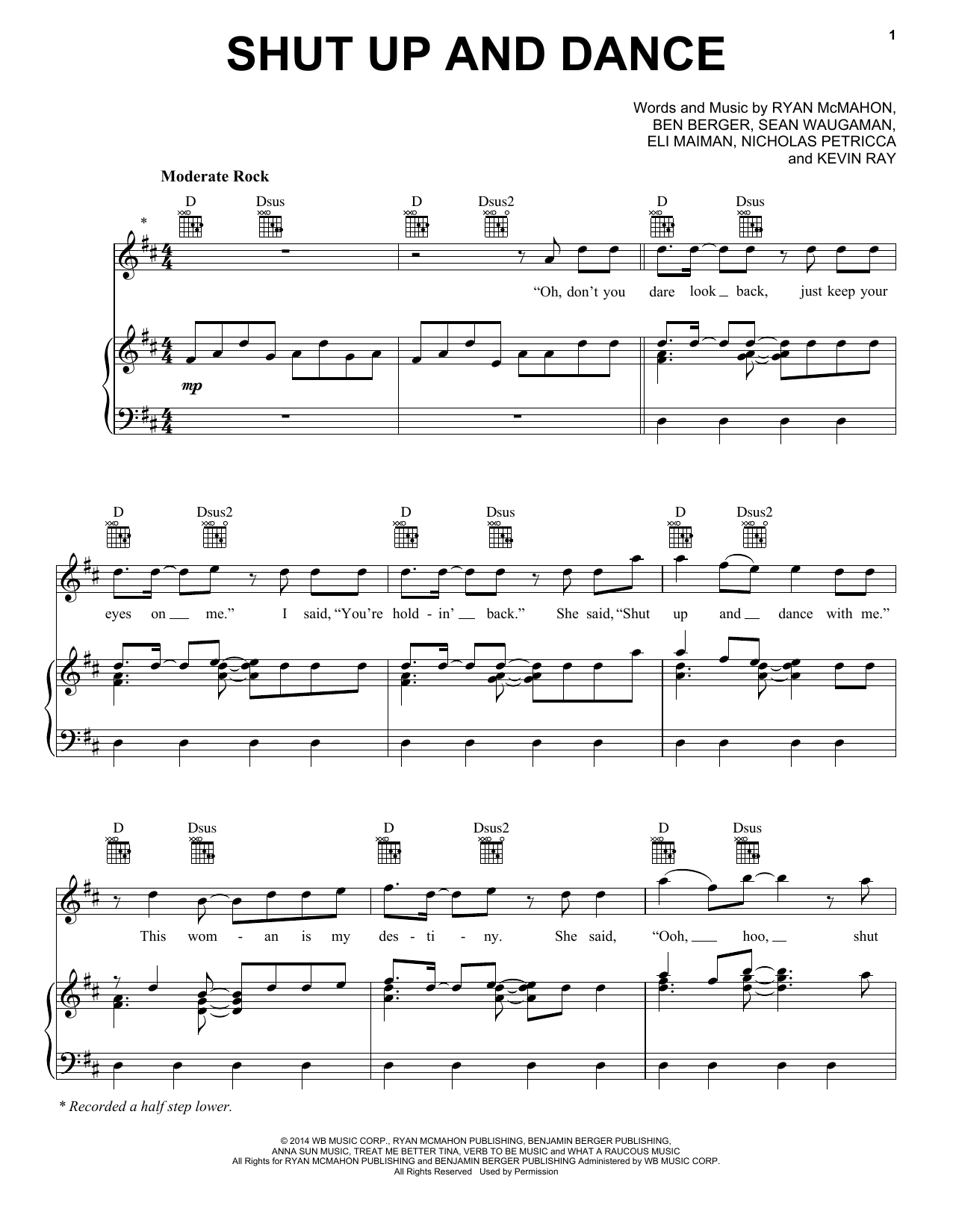 Ostrich walk sheet music