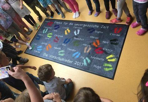 Gruppen-Abschiedsgeschenk für den Kindergarten #abschiedsgeschenkerzieherin