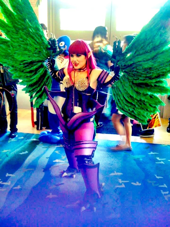 Harpie Lady Cosplay By Mybloodydeadzombie On Deviantart Cosplay