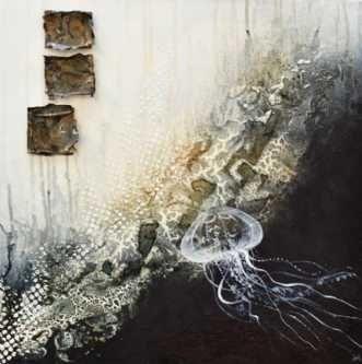 Kunstsamlingen | Artist: Vivi Amelung | Title: Abstrakt felings #kunstsamlingen #kunst #artcollection #art #painting #maleri #galleri #gallery #onlinegallery #onlinegalleri #kunstner #artist #danishartists #viviamelung