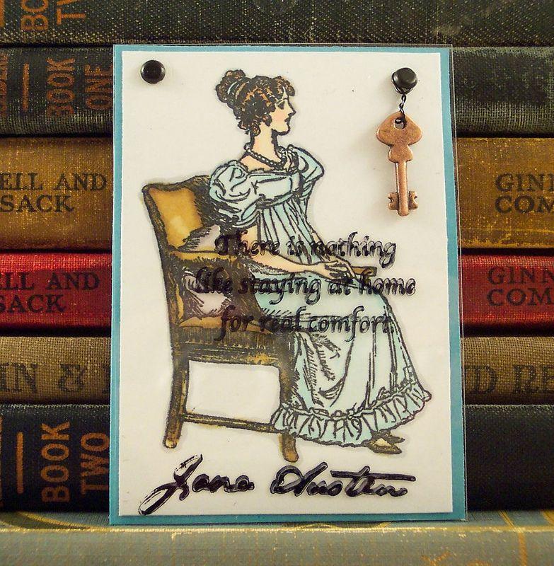 Jane Austen Home Quote ATC | Flickr - Photo Sharing!