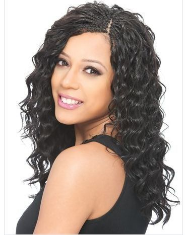 modelmodel pose loose deep bulk braiding hair 14 1b 30