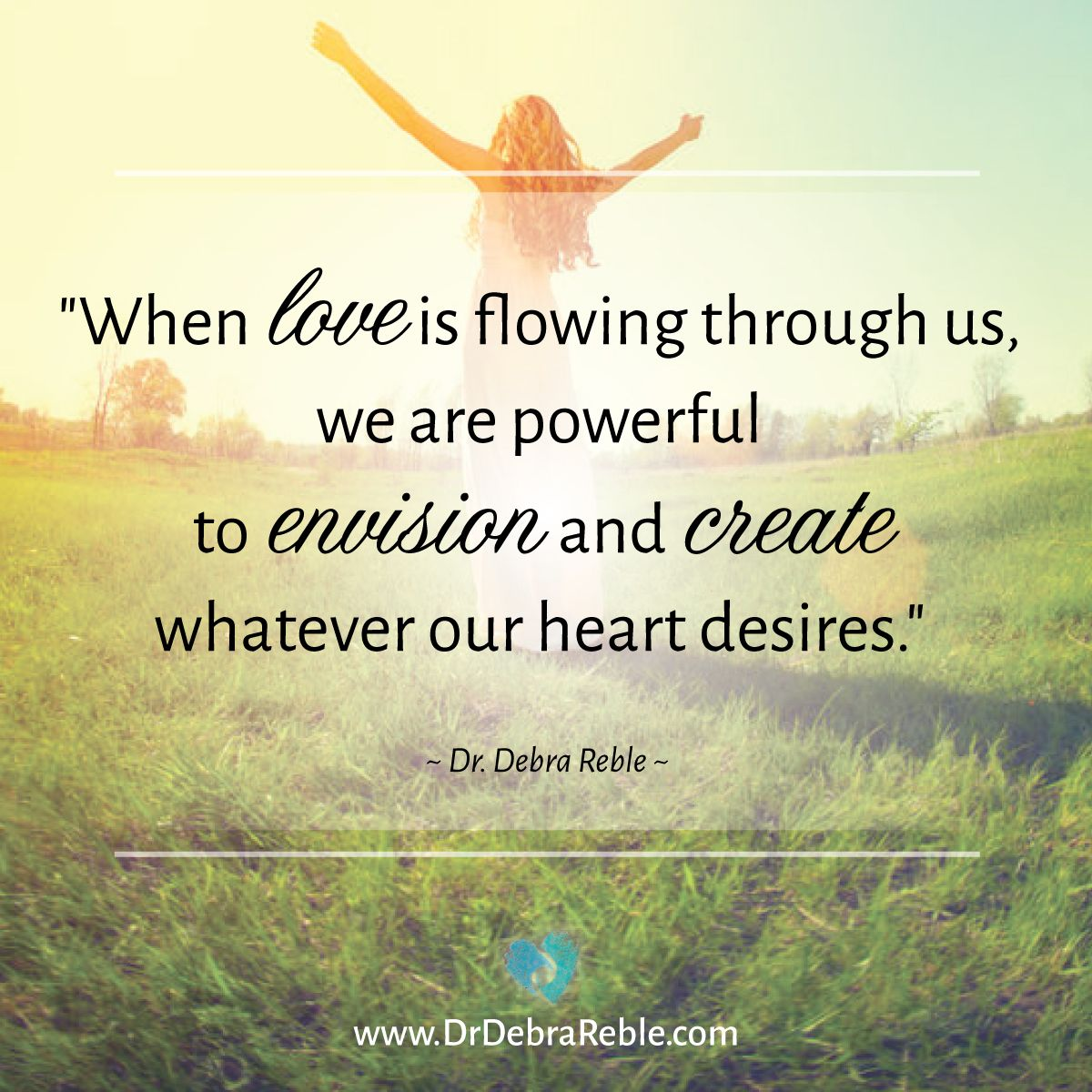 Spiritual Quotes About Love When Love Is Flowing Through Us We Are Powerful To Envision And