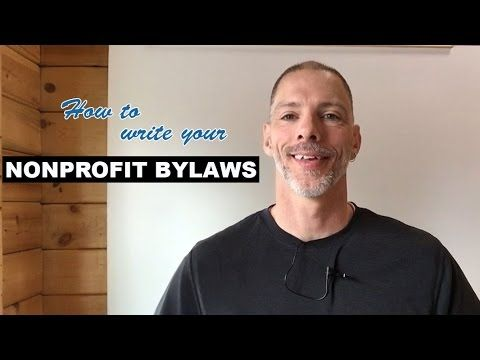 How to Write your Nonprofit Bylaws Nonprofit Ally - with sample - bylaws templates
