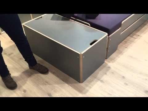 bettkasten f r die stapelliege design rolf heide m bel. Black Bedroom Furniture Sets. Home Design Ideas