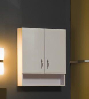 Tboss Bianka F60P fürdőszobai felső szekrény (tölgy ...