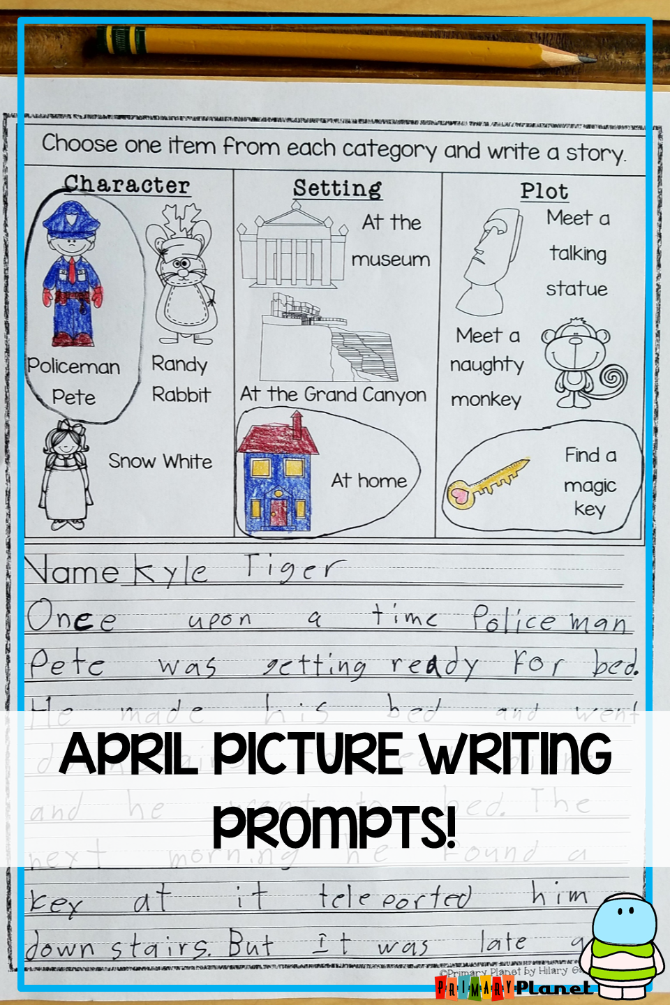 These No Prep Printable Picture Writing Prompts For Kids Are Interesting Imaginative Picture Writing Prompts Writing Prompts For Kids Spring Writing Prompts [ 1440 x 960 Pixel ]