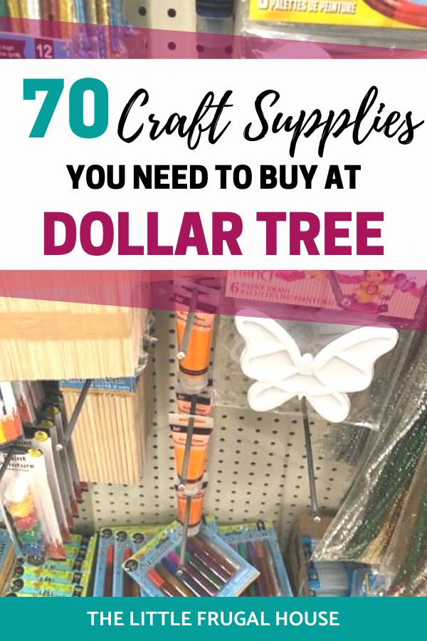 21++ Best dollar tree craft supplies ideas