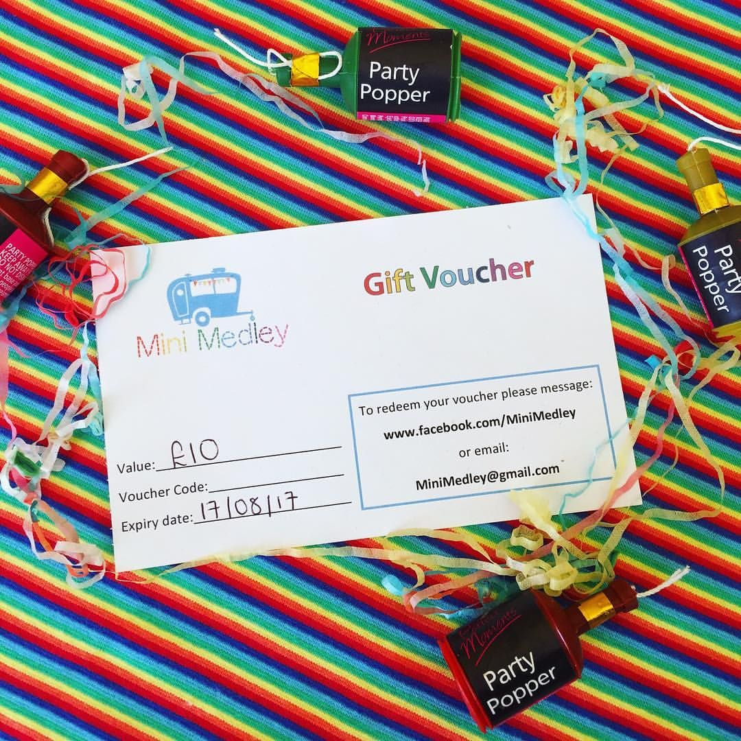 Looking for the perfect gift? How about a Mini Medley gift voucher 🎁