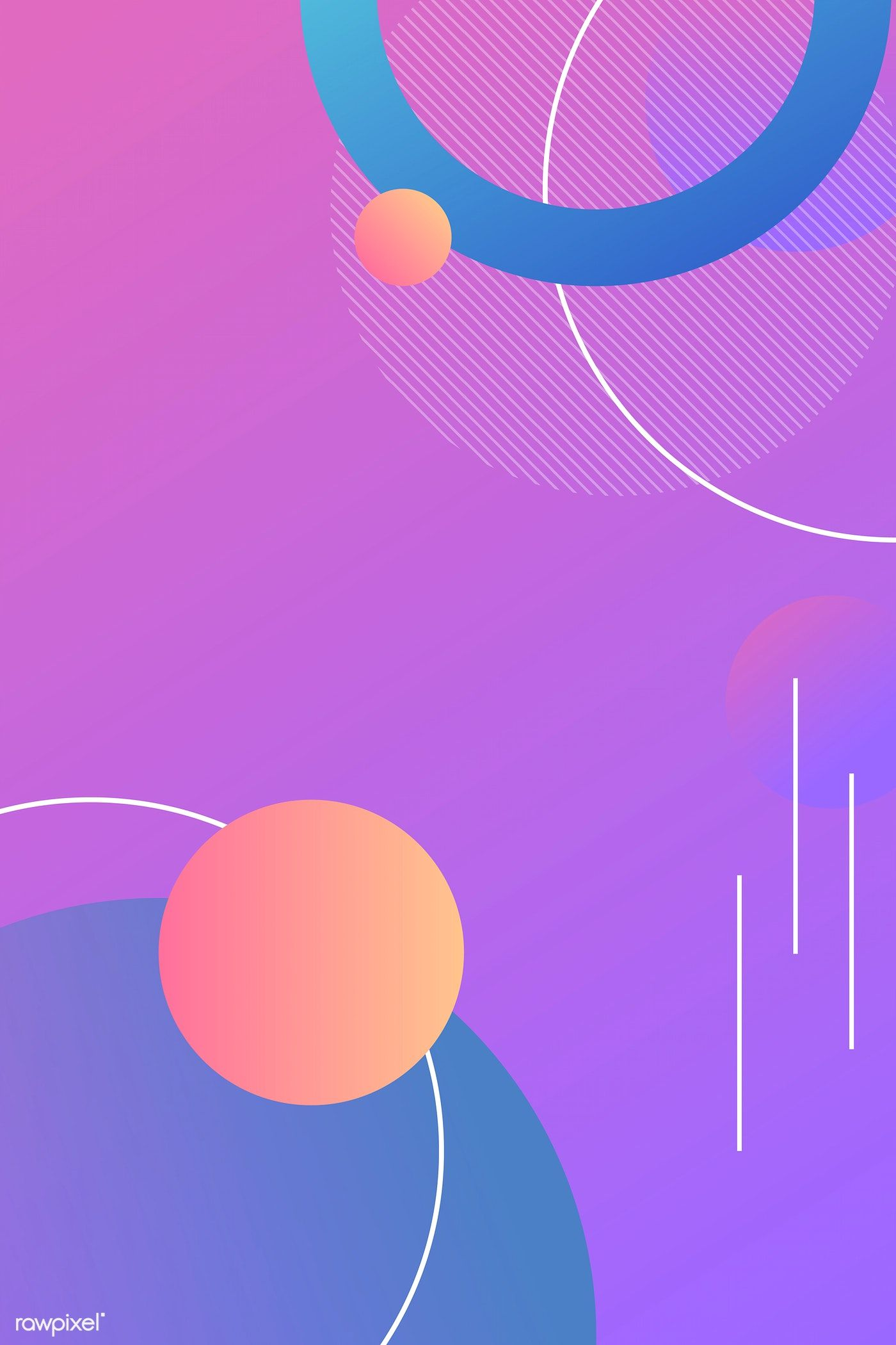 Download Premium Vector Of Colorful Round Modern Background Vector