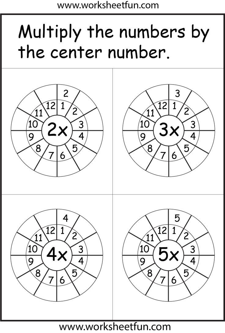 Times Table Worksheets Math Worksheets Math For Kids