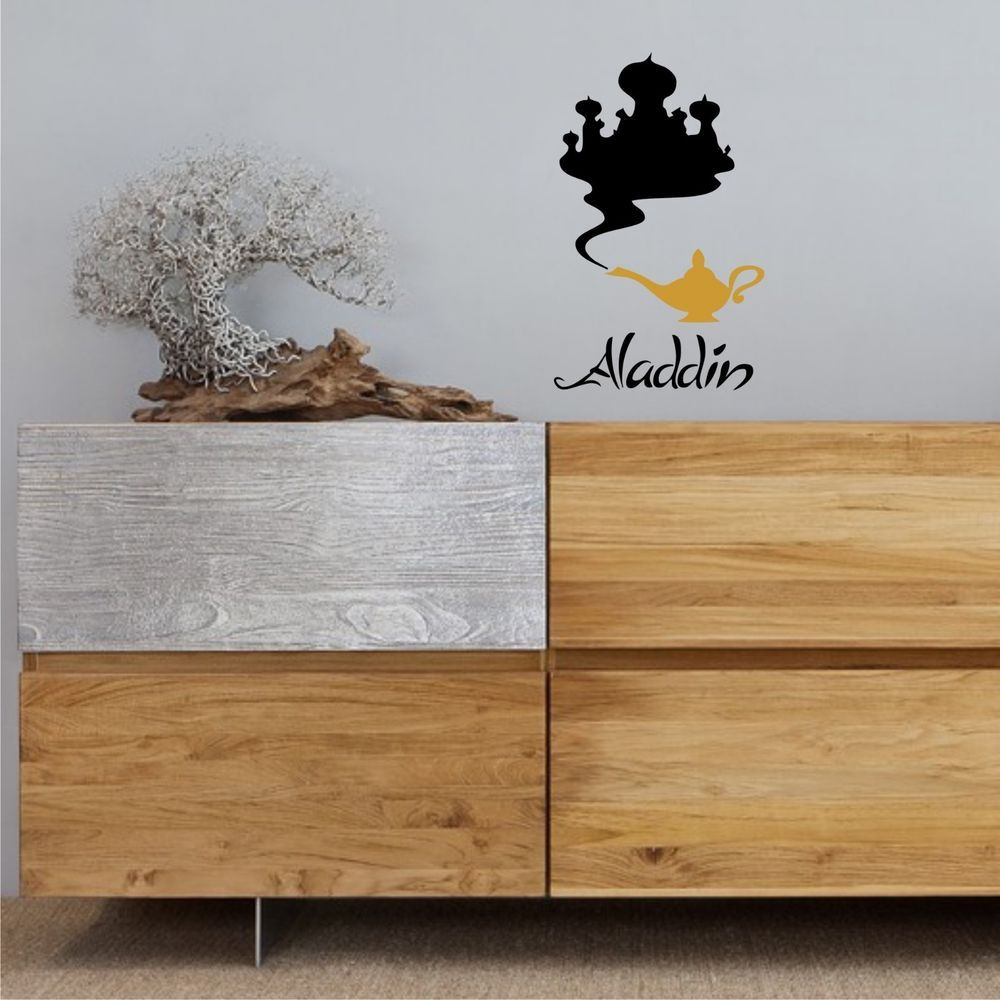 Aladdin And The Lamp Sticker Children Stickers Removable Wall