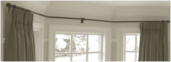 17 best ideas about Bay Window Curtain Rail on Pinterest | Bay ...
