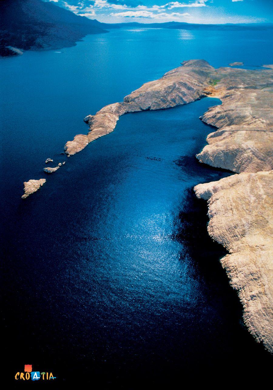 Croatia, Adriatic sea / beautiful deep blue croatia