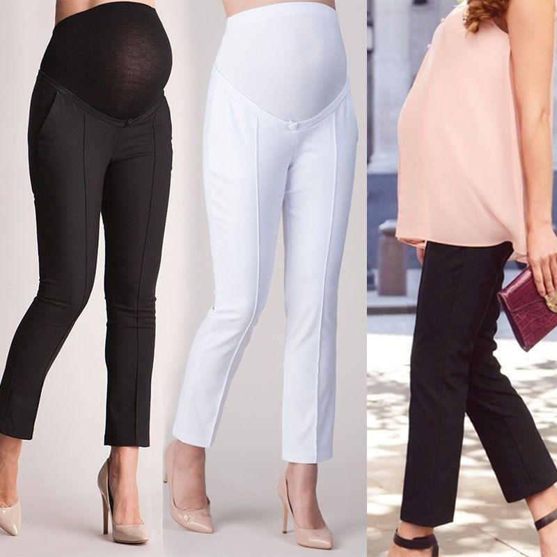 def51adbac30d Pregnant Leggings Pants Trousers Pencil Elastic Belly Protection Maternity  Hot #fashion #clothing #shoes #accessories #womensclothing #maternity (ebay  link)
