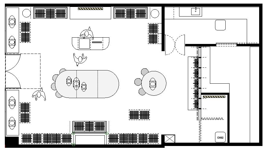 Clothing Boutique Floor Plan Store Layout Design My