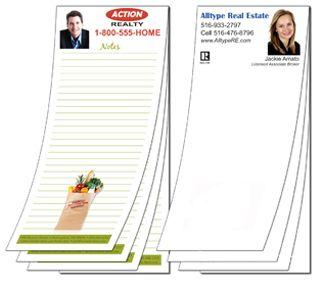 Full Color Real Estate Notepads Realestatecalendars
