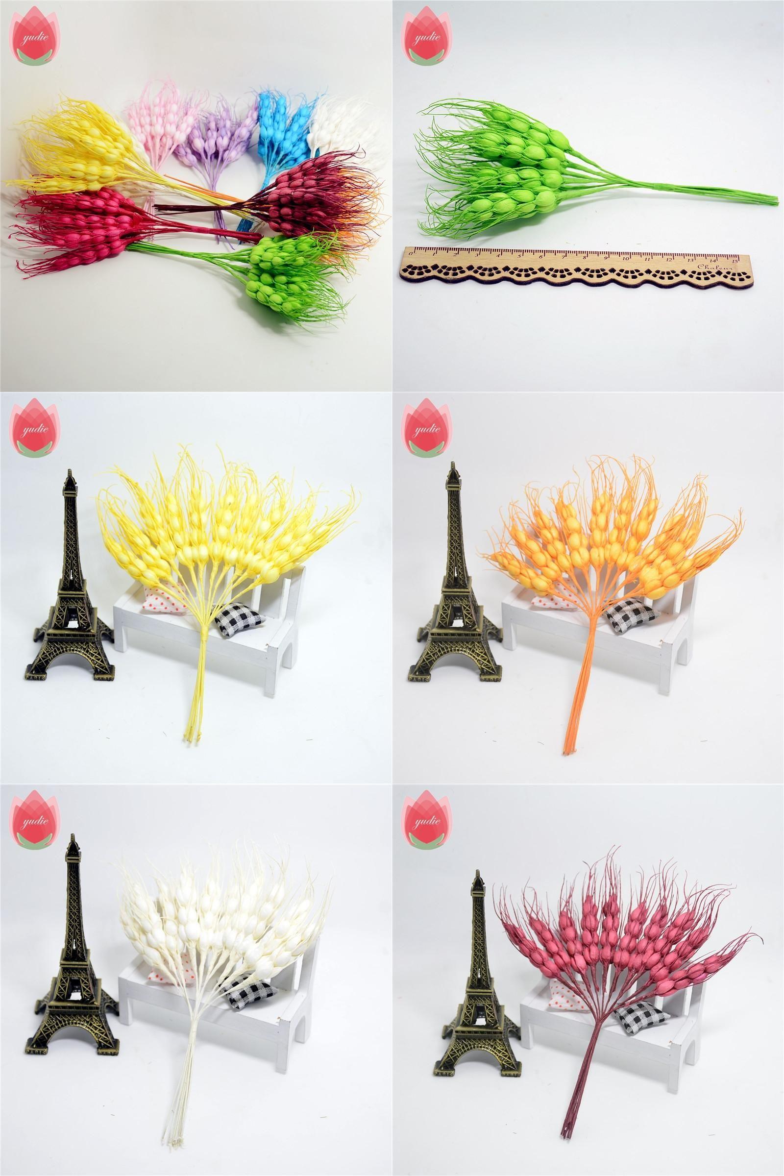 Visit To Buy 10pcs 17cm Foam Autumn Wheat Artificial Flowers