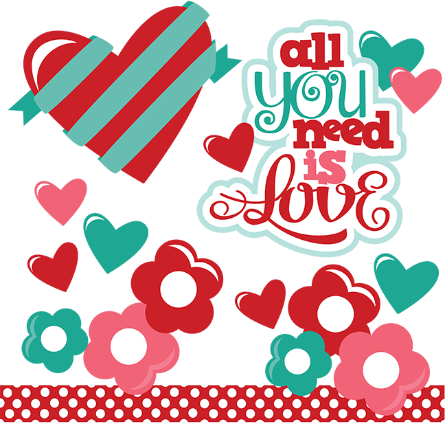 Download All You Need Is Love SVG   Clipart, Tarjetas, Día de san ...