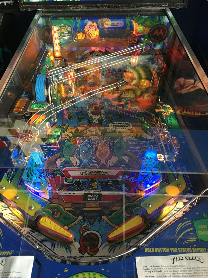 Game preserve arcade pinball Pinball, Classic games, Arcade
