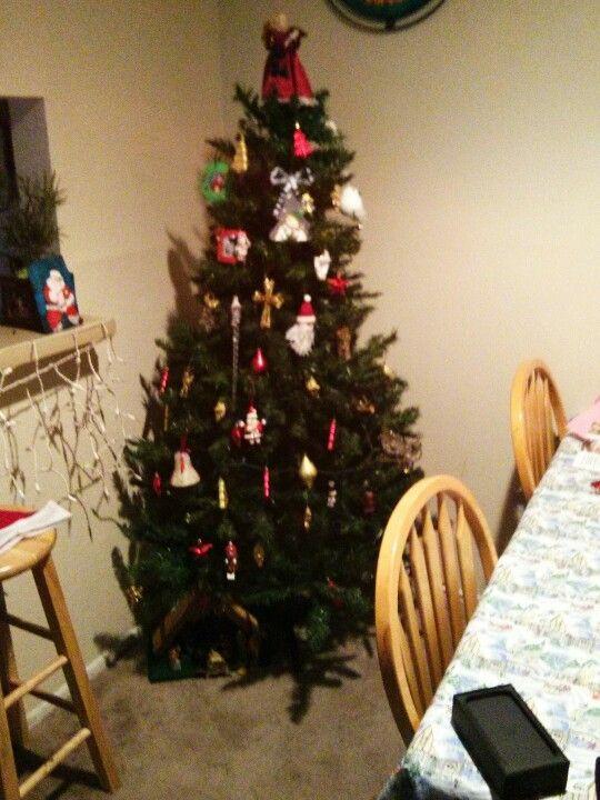 Christmas tree decorated ♥