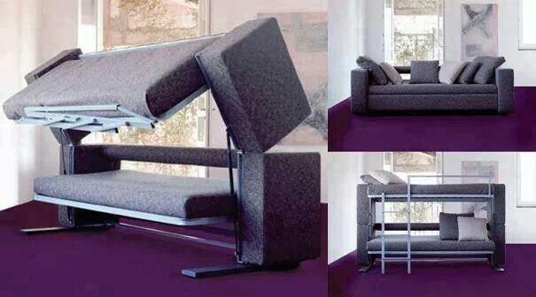 Sofa Camas With Images Sofa Bed For Small Spaces Couch Design Couch Bunk Beds