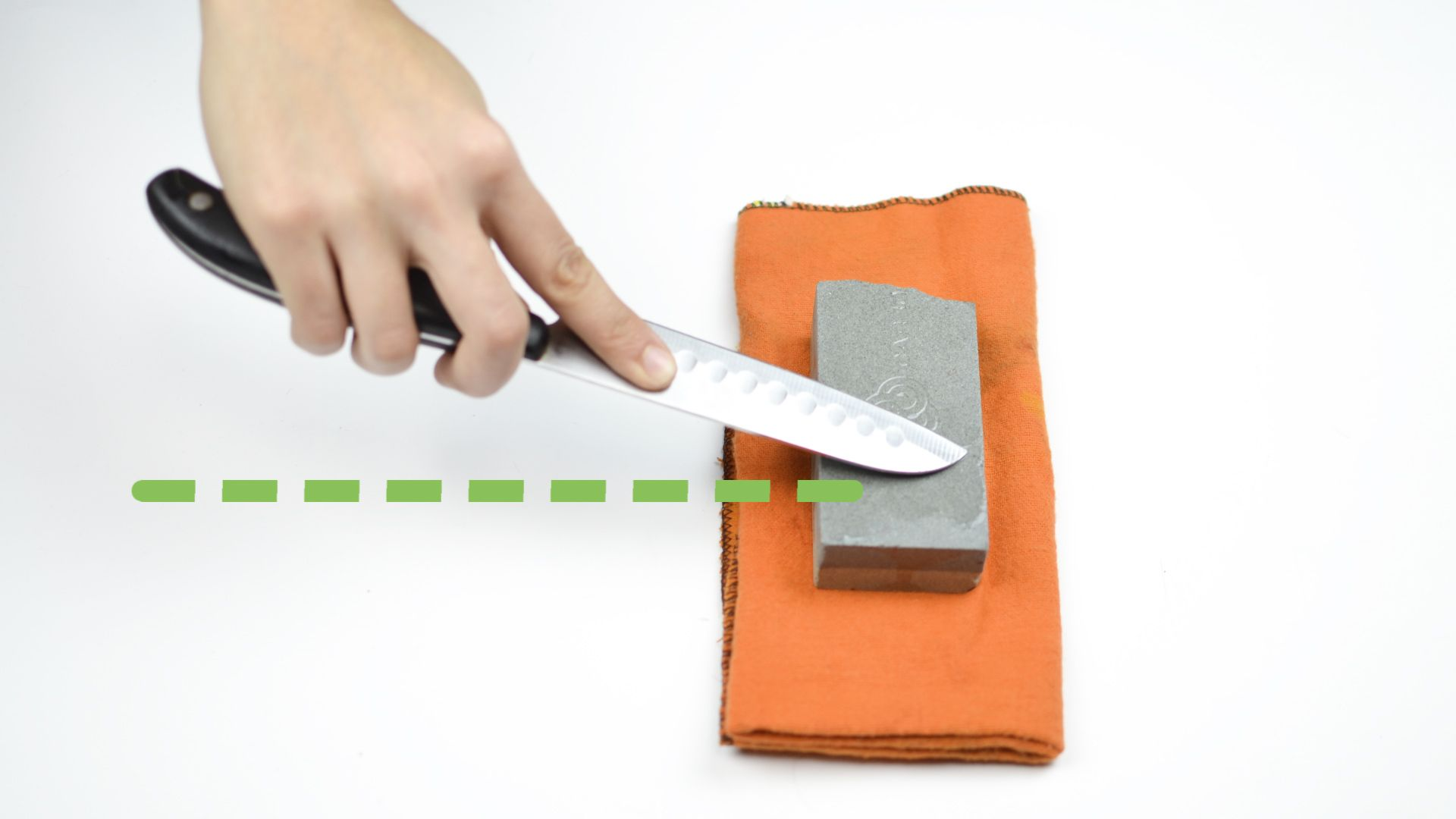 How to sharpen a knife with a stone dull knives knife
