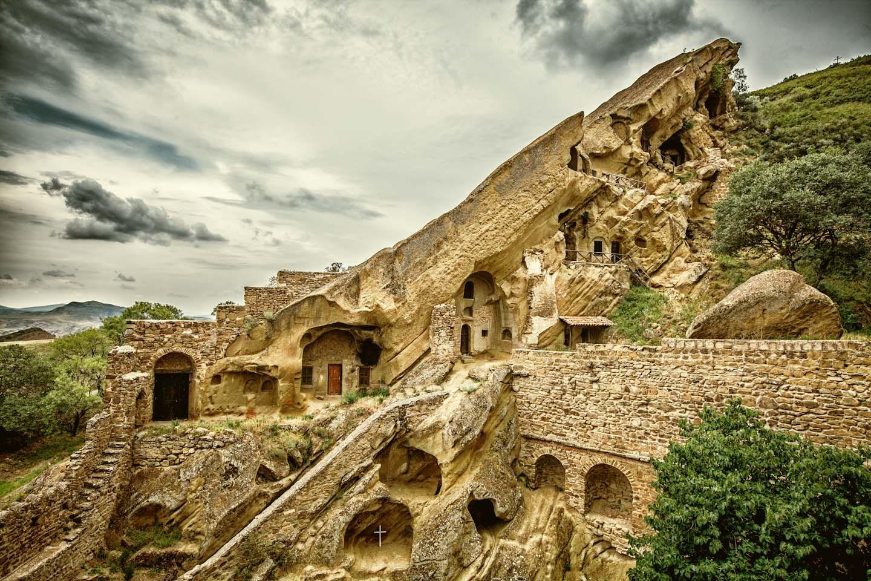 Davit Gareji Monastery Azerbaijan Border Immagini Georgia