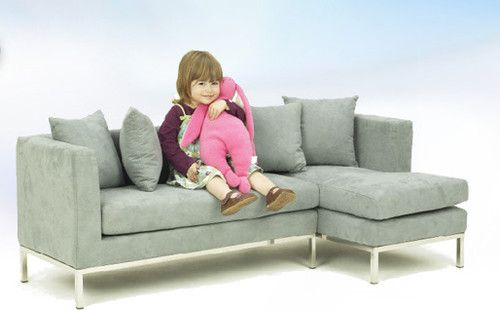 Playroom Boom Lucy Sectional Modern Kids Chairs