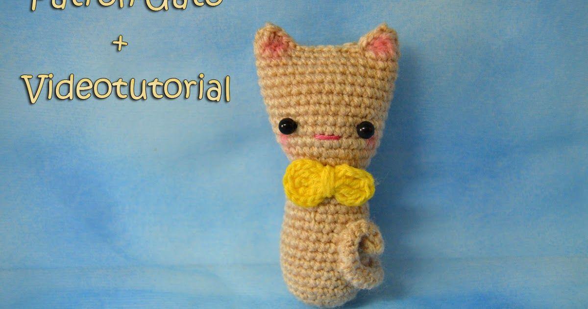 Increíble Crochet Patrón De Gato Libre Ideas - Manta de Tejer Patrón ...