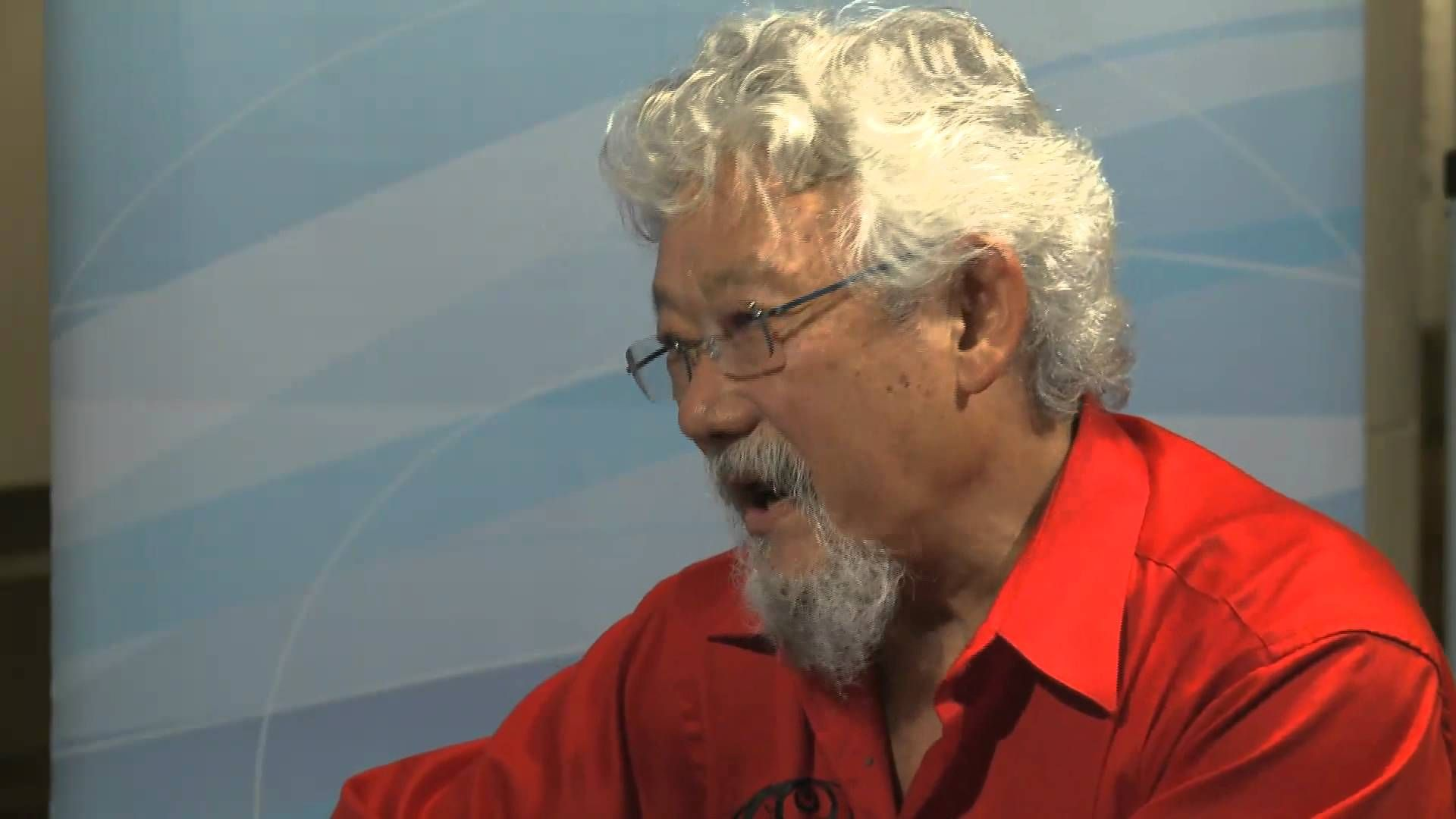 David Suzuki is a famous Canadian environmentalist. He is