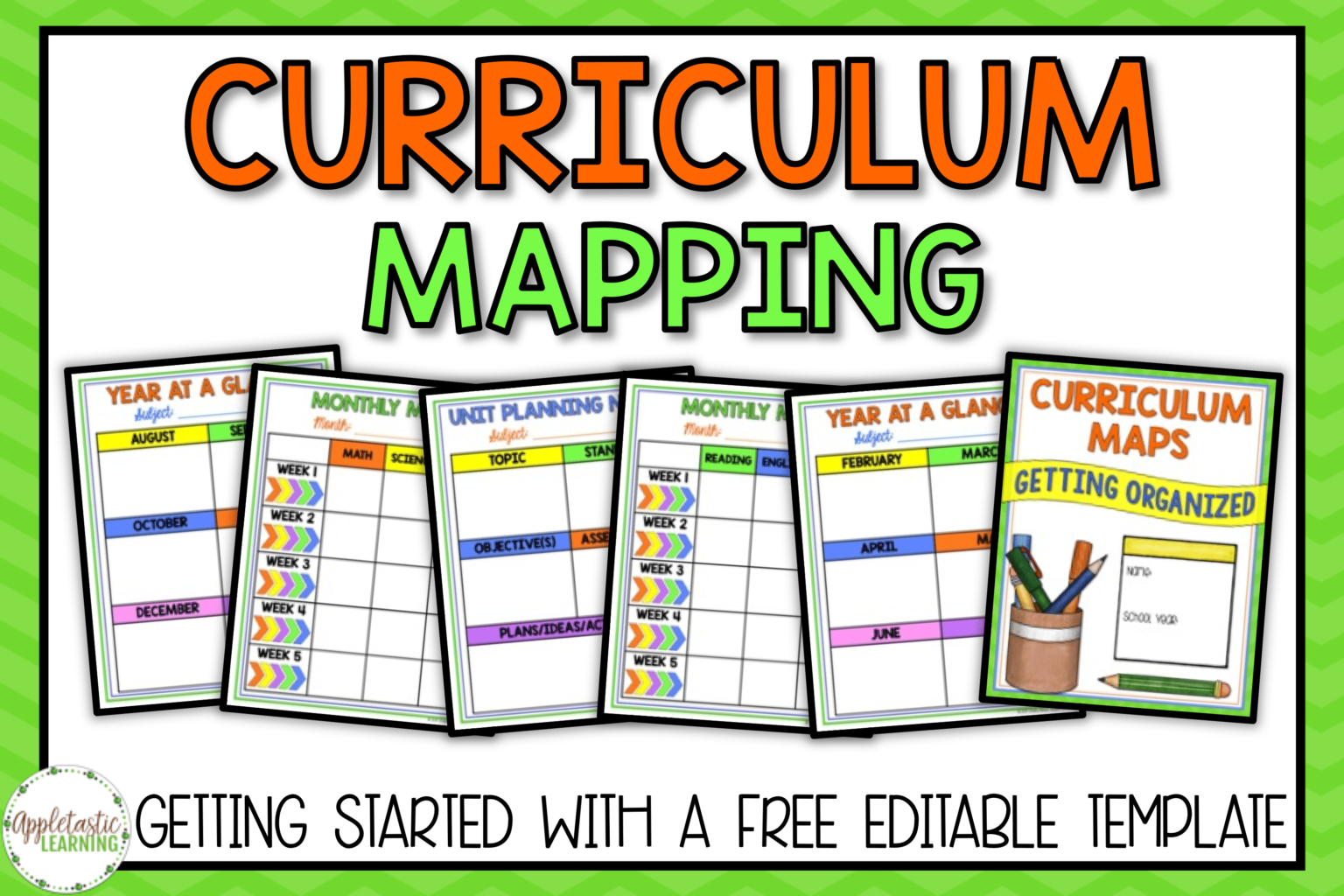 Curriculum Mapping Grab A Free, Editable Template Now