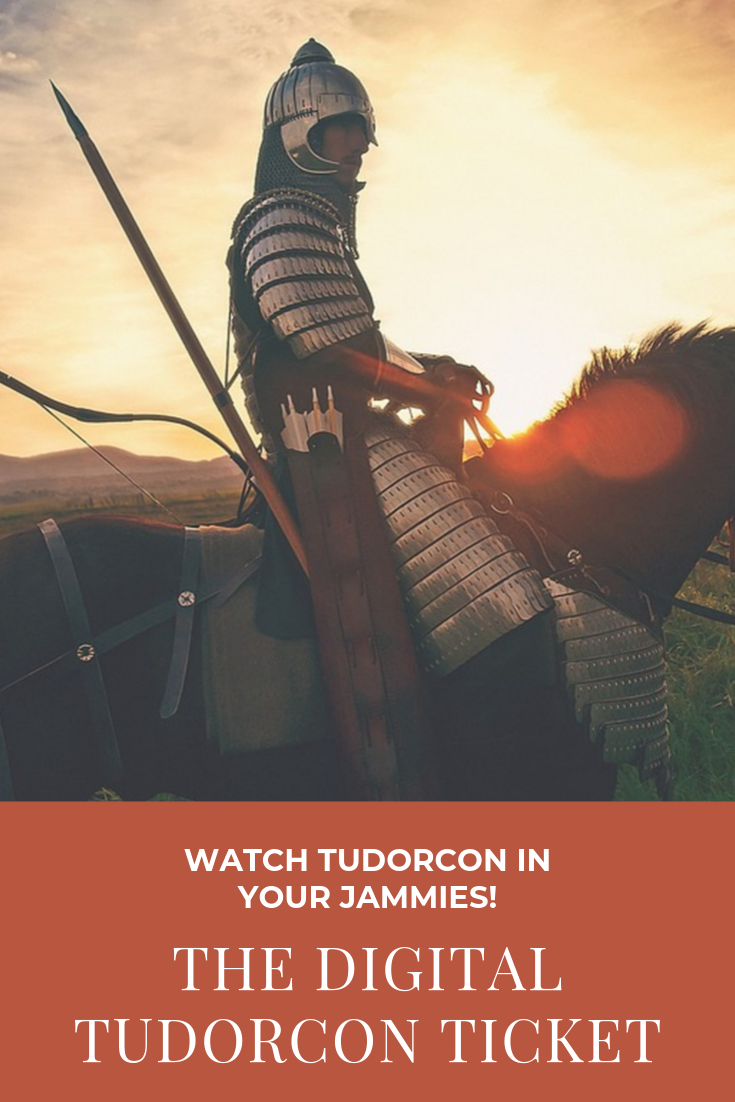 Photo of Now you can watch Tudorcon in your jammies…
