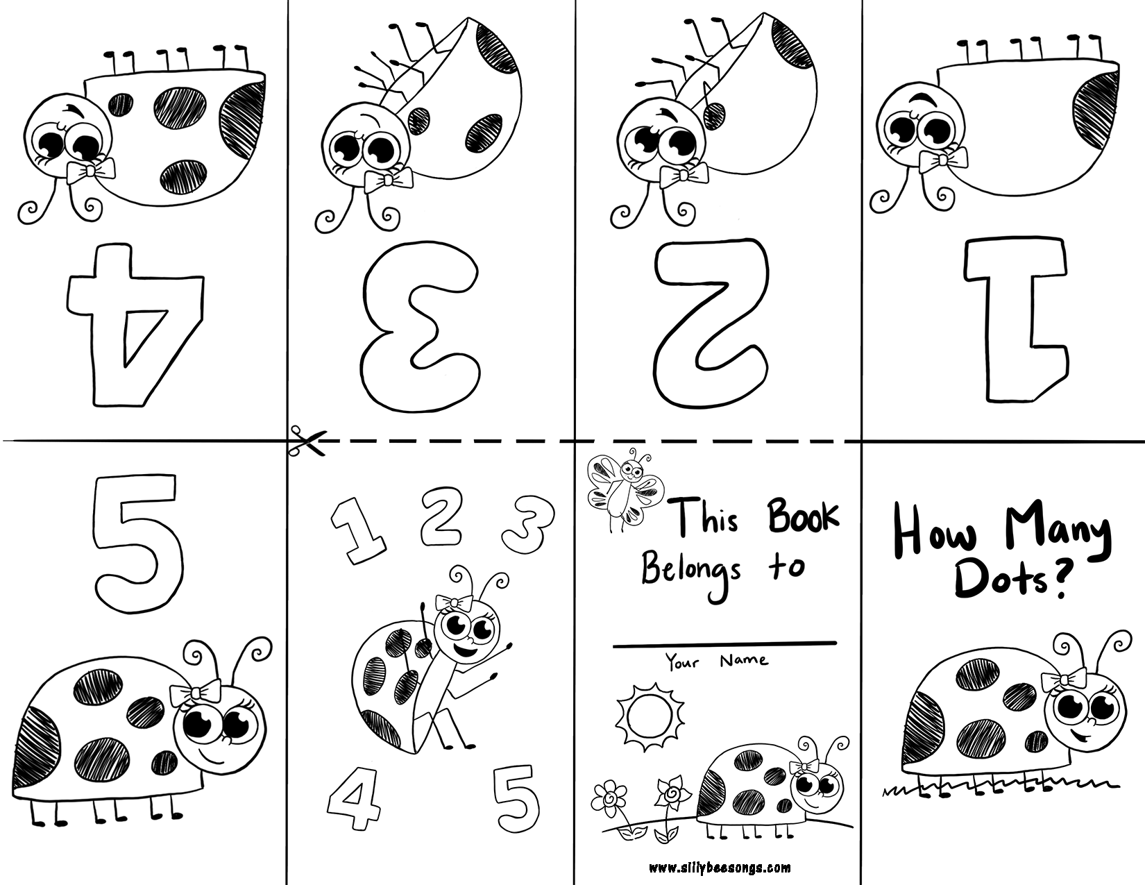 Free Preschool Kindergarten Worksheets To Lear To Count To