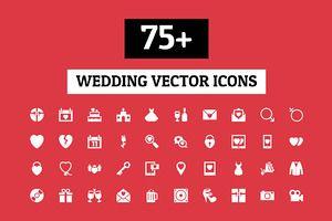 75+ Wedding Vector Icons