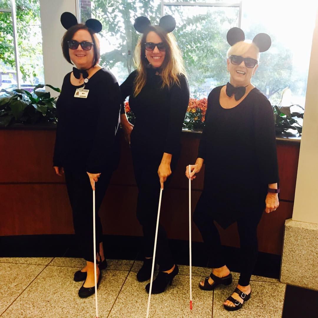 three blind mice. work appropriate halloween costumes. costumes for