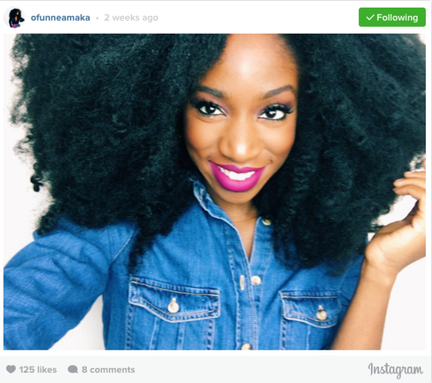But 26-year-old beauty enthusiast and blogger Ofunne Amaka is helping other women side-step that problem with Cocoa Swatches, an app that aims to help people of color find makeup that actually works. | For Women Of Color, This New App Makes Finding Makeup Much Easier