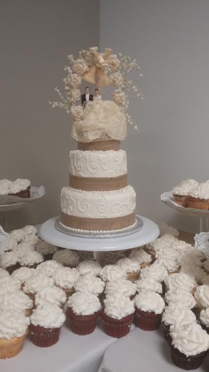 Cake · Wedding Cake By Sarau0027s Sweet Bakery Grand Rapids MI