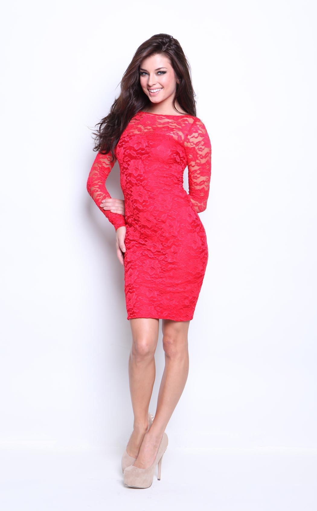Amazing jewel lace dress