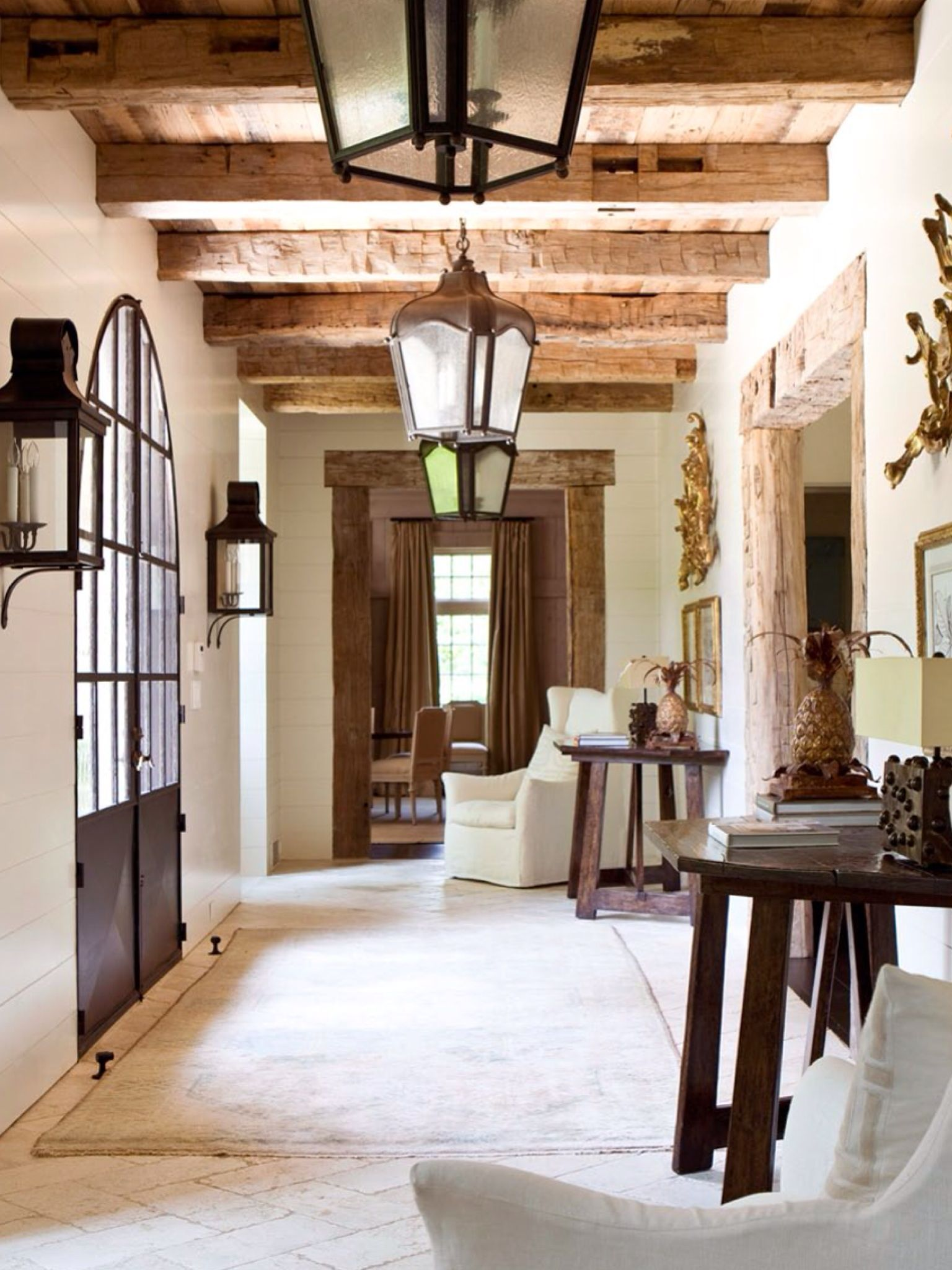 Entry Way Italian Farmhouse