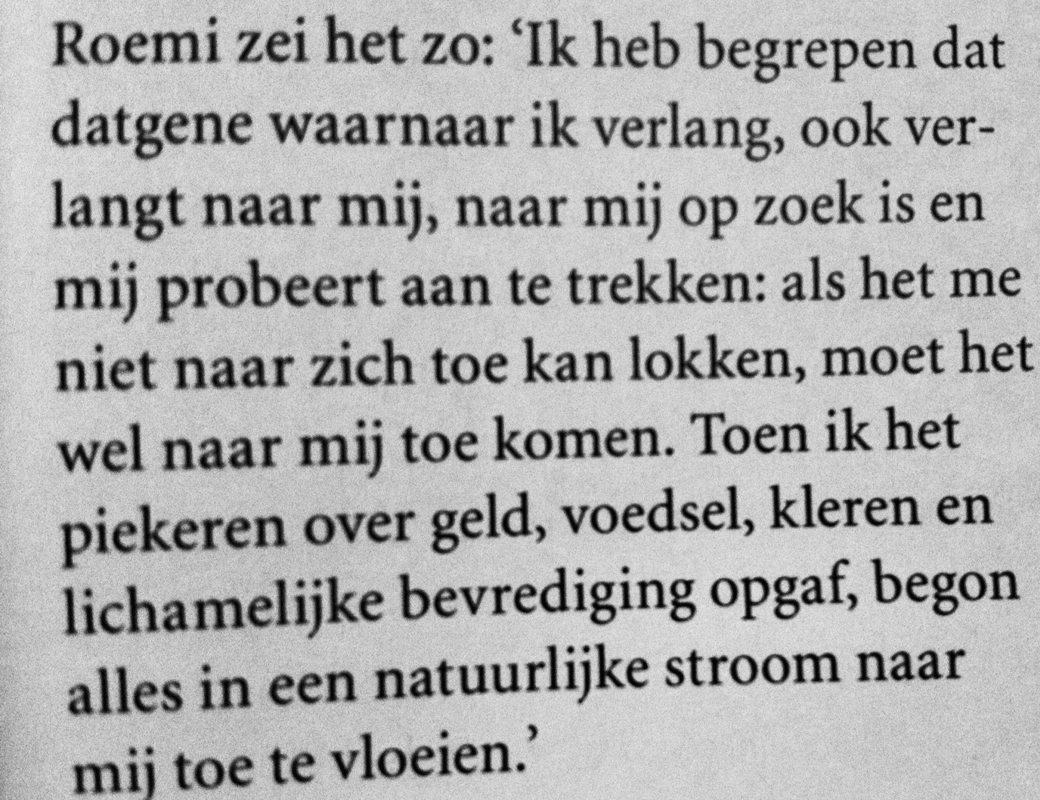 Quote van Soefi-dichter Roemi