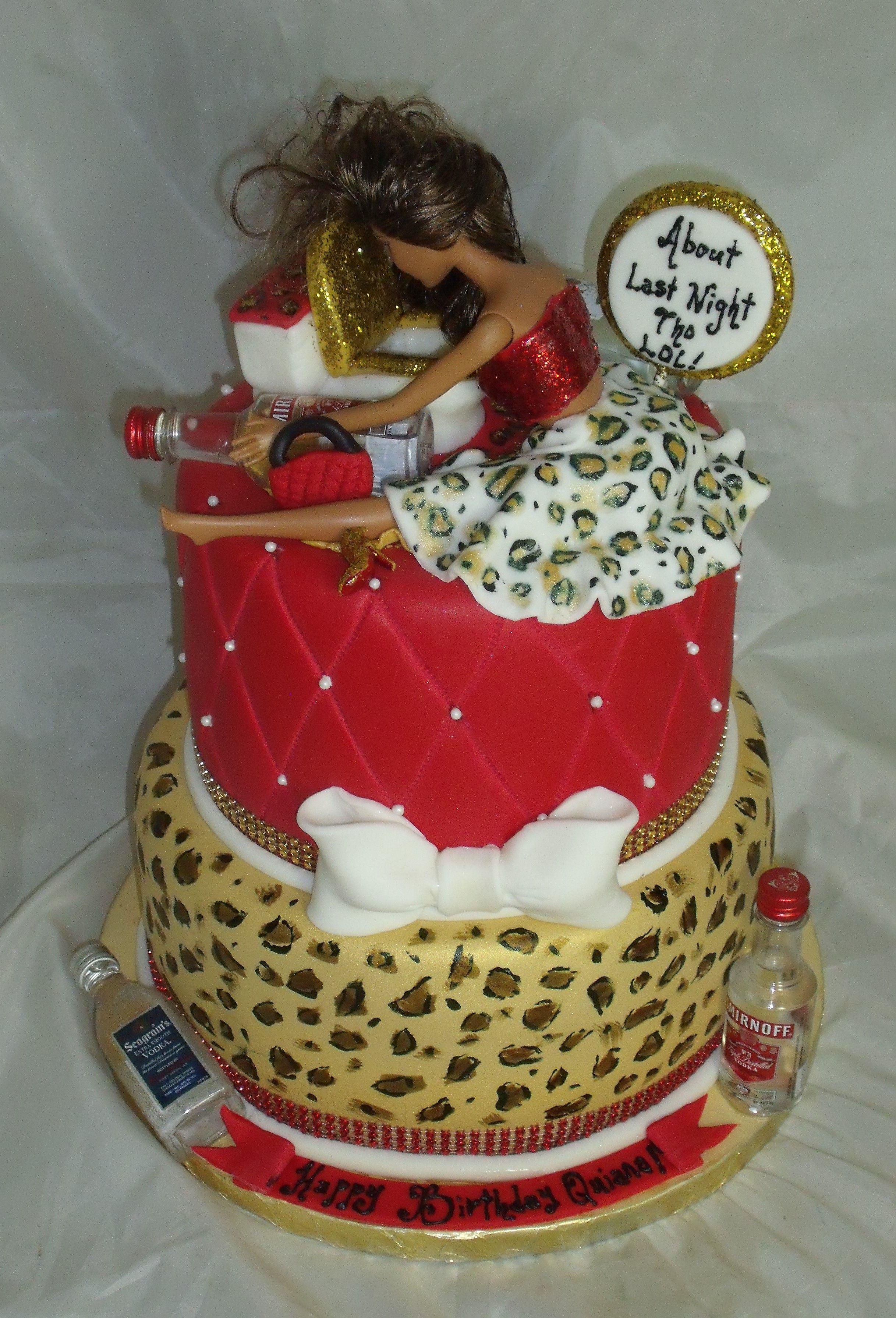 Drunk Barbie Cake Www Creativecakesbykeekee Com