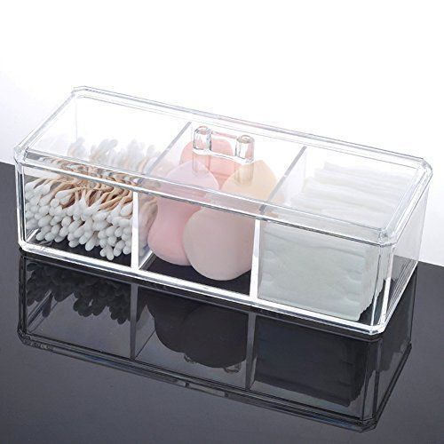 Alegory Acrylic Lip Gloss Makeup Organizer, 24 Spaces – Clear